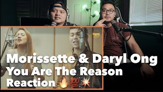 You Are The Reason - Calum Scott - Cover by Daryl Ong & Morissette Amon REACTION | #yocheckit