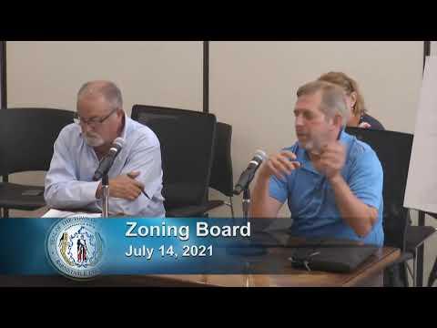 Zoning Board 7-14-21