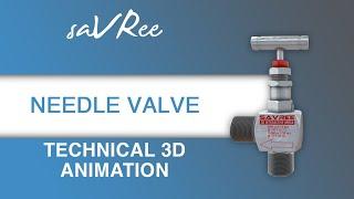 Technical 3D Animation - Needle Valve