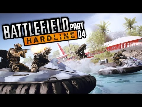 Battlefield Hardline: SO DUMB! Walkthrough Part 4, Gameplay Xbox 360