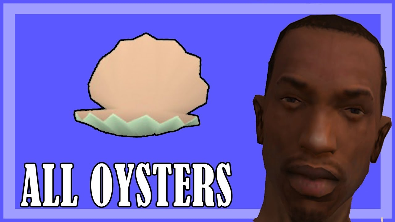 GTA San Andreas - All 50 Oysters guide ✅