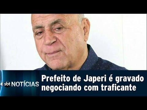 Gravações mostram prefeito de Japeri negociando com chefe do tráfico | SBT Notícias (31/07/18)