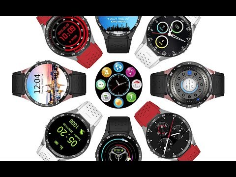 ✅KingWear KW88 Review Android Smartwatch Phone!