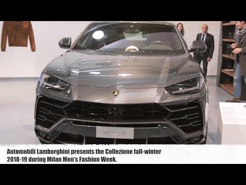 Collezione Automobili Lamborghini at Milan Fashion Week 2018 | CarZilla