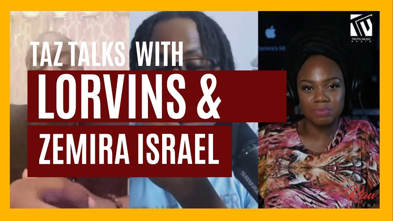 Taz talks with Lorvins & Zemira Israel | Raw Talent