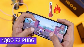 iQOO Z3 PUBG Gaming Review with FPS & Heating Test |  SHOCKING RESULTS 😱😱