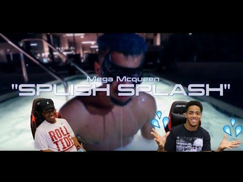 Mega McQueen - Splish Splash - PontiacMadeDDG Diss Track - OFFICIAL MUSIC VIDEO - REACTION!!!