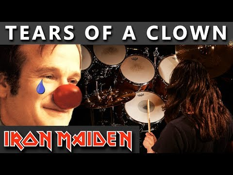 IRON MAIDEN Drum Cover - Tears Of A Clown #48