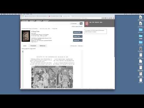 How to Access & Register - JStor
