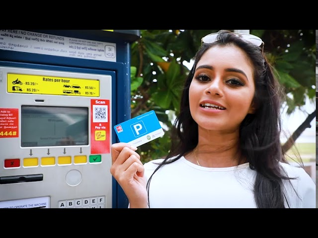 Dialog Touch Parking Card