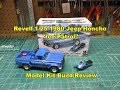 Revell 1/25 1980 Jeep Honcho Ice Patrol Model Kit Review Build 85-7224