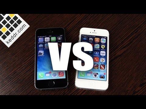 iPhone 5s vs iPhone 5 - Сравнение Производительности - Keddr.com