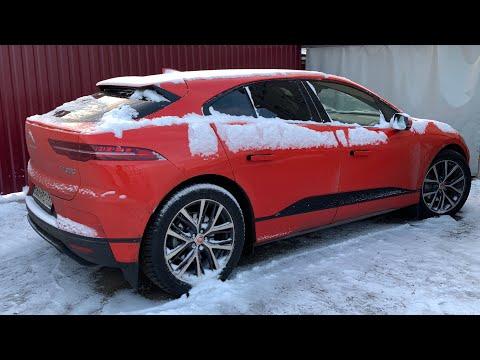 Каждый день ЗИМОЙ на ЭЛЕКТРОМОБИЛЕ в Москве? | Jaguar I Pace | Электрический Автомобиль