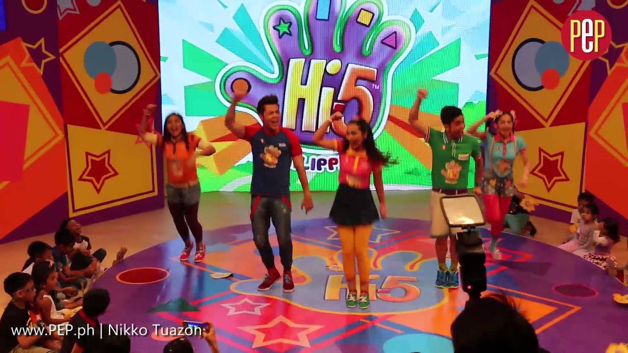 Hi5 Philippines Cast Performing Some Kind Of Wonderful