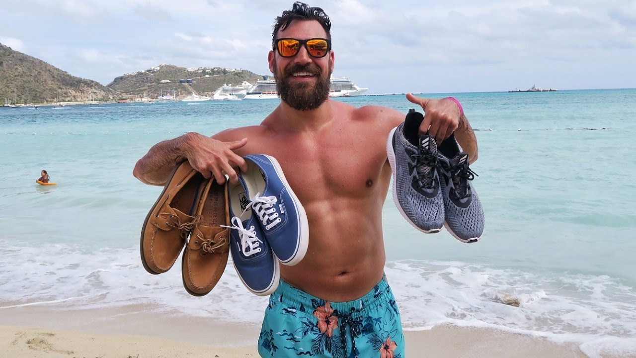 3 Shoes Every Guy Should Bring On Vacation Youtube
