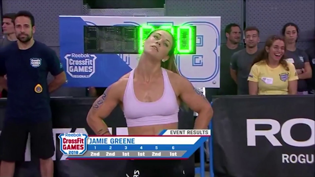 Download Jamie Greene Dominates The 2018 CrossFit Games Meridian Regional
