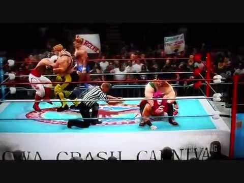 Muscle Bomber Battle Royal - CWA Saturday Night Slam Masters WWE '13 - All-CAW Wrestling