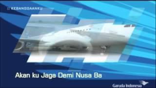 Theme Song Garuda Indonesia (Kebangganku) + Lirik