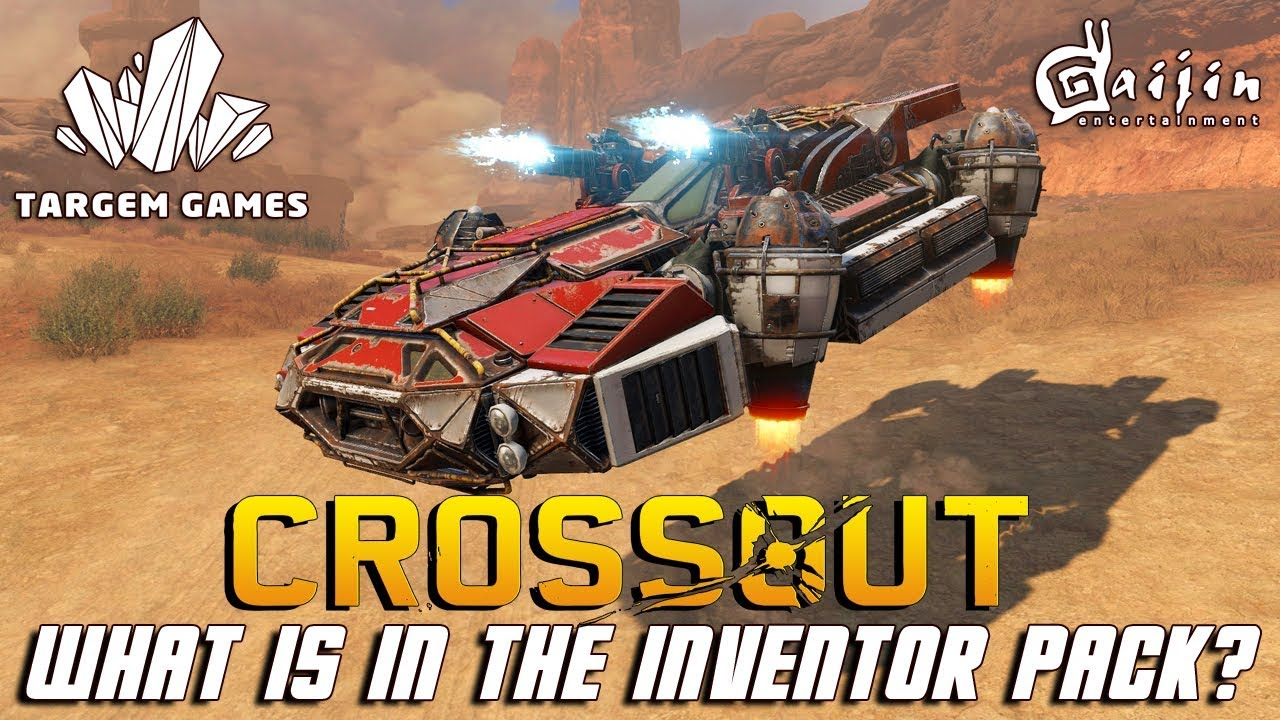 WHAT IS IN THE INVENTOR PACK?   CROSSOUT