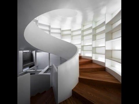 Виды лестниц в доме. Красивые винтовые лестницы