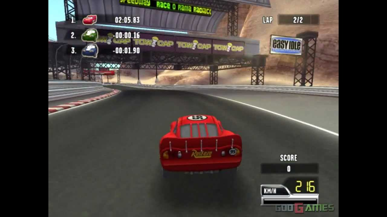 Cars Race O Rama Gameplay Hd Youtube