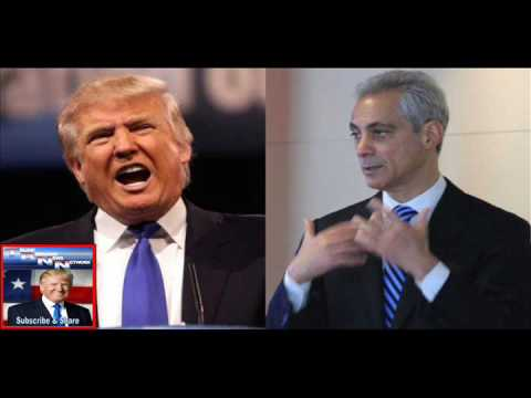 TRUMP IS PI$$ED! He Just Destroyed Chicago Mayor Rahm Emanuel with 2 Sentences