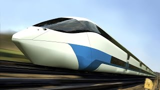 Fastest Train In The World 500 Km/h - Bullet Train - High Speed Rail