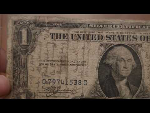 North Africa Short Snorter Silver Certificate Dollar