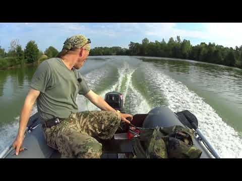 Снова на рыбалку! (обкатываем Nissan Marine 18)