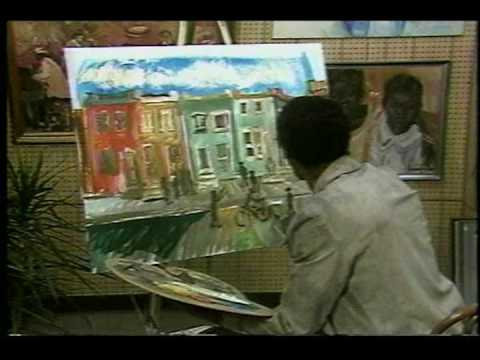 Andrew Turner Paints Part One - October Gallery, African American Art
