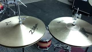 """Zildjian 15"""" A New Beats vs Zildjian 15"""" K Sweet Hats"""