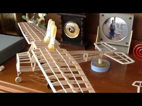 Guillow S Cessna 150 Rubber Band Power Model Youtube