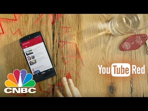 YouTube Red Takes On Netflix And Hulu To Dominate Streaming Services | Tech Bet | CNBC