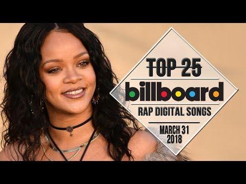 Top 25 • Billboard Rap Songs • March 31, 2018 | Download-Charts