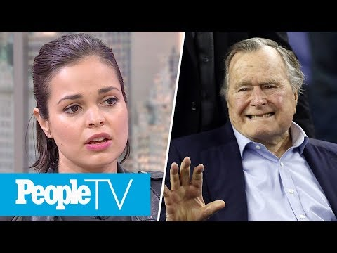 George H.W. Bush Accused Of Groping Actress, S.W.A.T. Star On Weinstein Sexual Harassment   PeopleTV