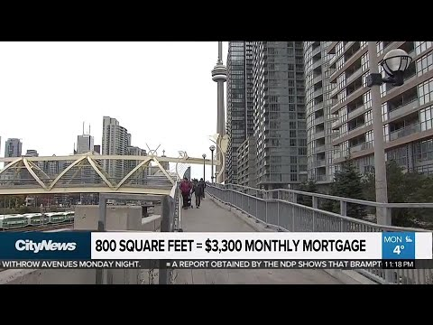 Average price of new condos in Toronto around $1,000 per square foot