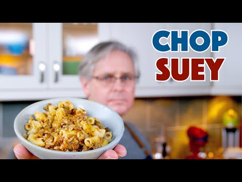 🔵 1938 Depression Era Chop Suey Recipe || Glen & Friends Cooking