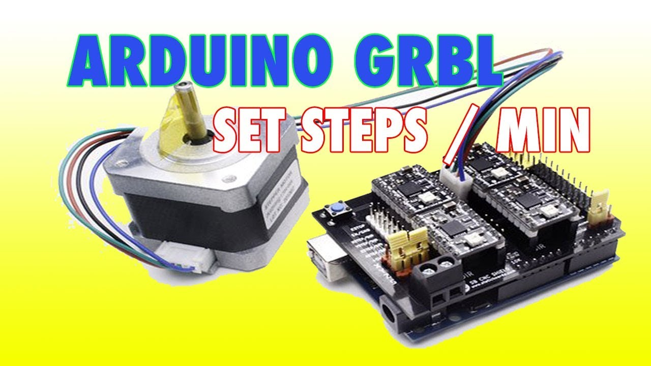 Arduino GRBL - How are steps per mm set?