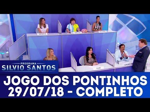 Jogo dos Pontinhos - Completo   Programa Silvio Santos (29/07/18)