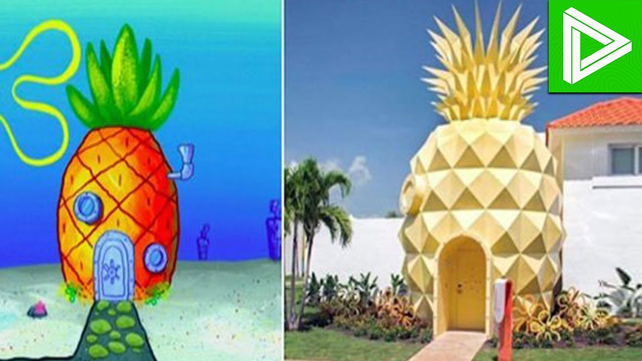 10 Cartoon Houses That Actually Exist In Real Life  YouTube