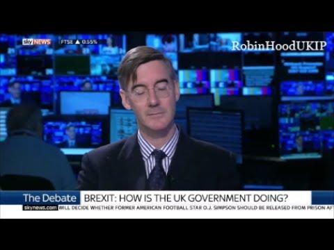 Jacob Rees Mogg to the EU. Vanitas vanitatum omnia vanitas.