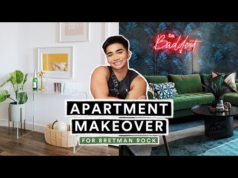 EXTREME APARTMENT MAKEOVER for Bretman Rock (Living Room + Kitchen ) thumbnail