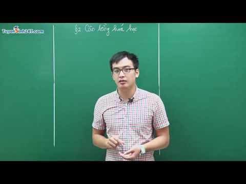 Bài 38: Cân Bằng Hóa Học – Chương 7: Tốc Độ Phản Ứng & Cân Bằng Phản Ứng | Hóa Học Online Lớp 10 |