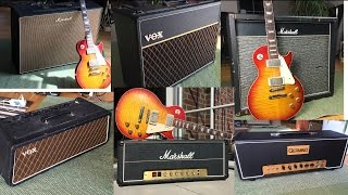 7 marshall vox amps comparison