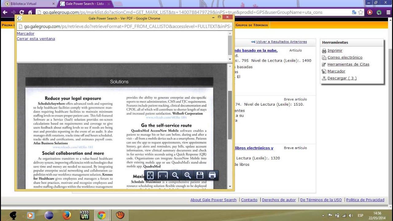 Tutorial Ingreso a Biblioteca Virtual Gale Cengage Learning - YouTube