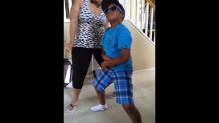 Jaybay doing Wop Gangnam Style