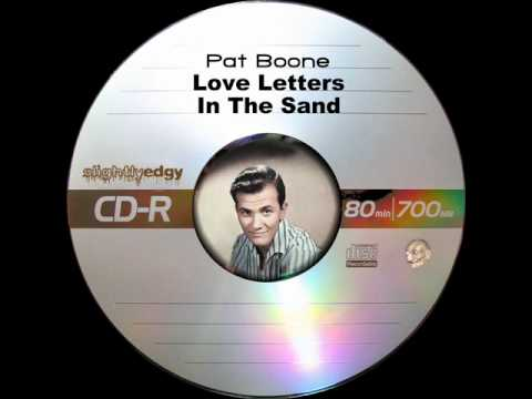 pat boone love letters in the sand pat boone letters in the sand 23911