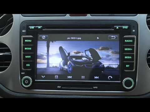 VW SEAT SKODA UI DVD GPS Bluetooth USB SD RADIO 3G CAN-BUS