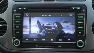 VW SEAT SKODA UI DVD GPS Bluetooth USB SD RADIO 3G CAN-BUS
