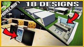 18 Minecraft Modern Kitchen Designs